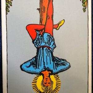 今日のカード(吊るされた男)