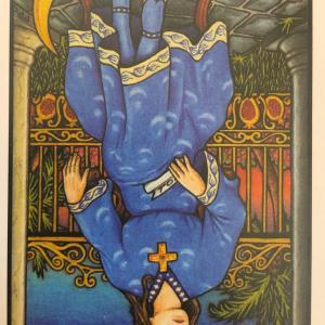 今日のカード(女教皇 逆)