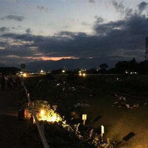 信州の夏の夜  すすき川花火大会2019を眺めながら 2016のも書きます。