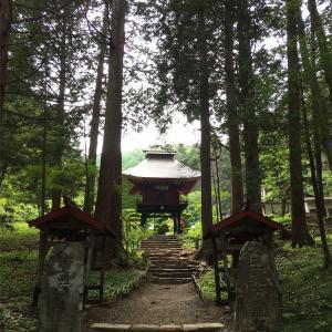 京都 清水寺の原点?!山形村の山中にある清水寺へ。