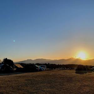 2020年初めてのキャンプin静岡②