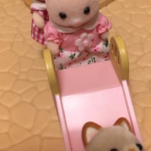 ののはなさん&そよかぜねこの赤ちゃんペアセットと、ののはなさん赤ちゃんハウス