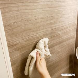 夫と息子お風呂掃除に目覚める