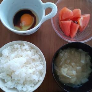 【減塩】2020年10月24日の減塩食の献立ー朝食は夫が作りましたー
