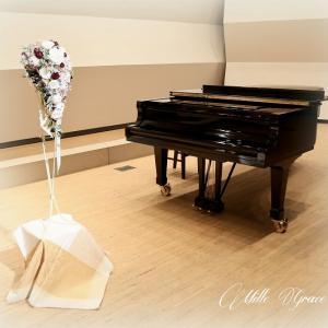 ピアノ発表会 装花