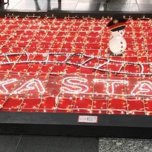梅田…時空の広場でパチリ
