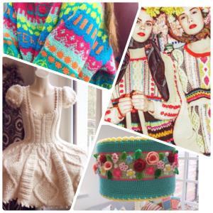 刺激的な編み物!海外の作品はカラフル&その発想は無かった!なものいっぱい♪