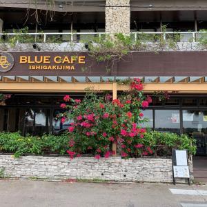 【石垣島】ブルーカフェ石垣島 ~ 離島ターミナル近くの港が見えるカフェ