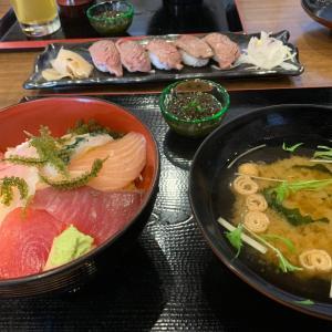 【石垣島】サバニ船 ~ ランチタイムの海鮮特上丼で島産の魚を味わう!