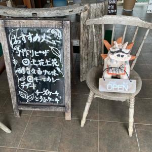 【沖縄 恩納村】カフェギャラリー 土花土花(ドカドカ)~ テラス席からの景色は最高!恩納村の美しい海を眺めながらランチ♪