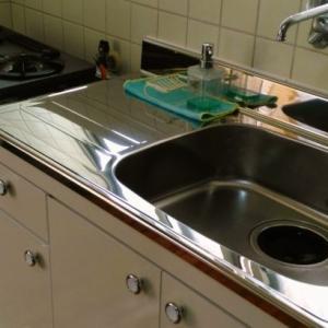 【祝】カビと水漏れが酷くて汚い台所が、生まれ変わりました!
