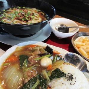 本格的刀削麺…四季蜀宴