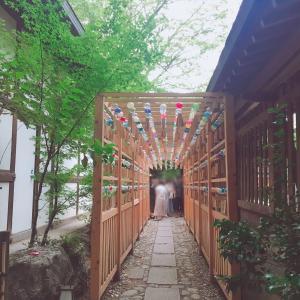 川越氷川神社の縁結び風鈴