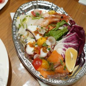 東銀座でピザ活&築地で魚まみれな夕飯記録(●^o^●)
