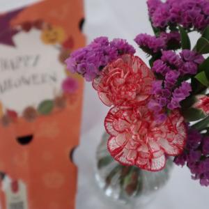 お花の定期便 bloomee LIFE今だけハロウィンデザインのパッケージでお花が届くよ