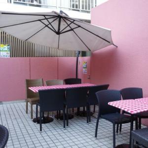 日暮里サクラカフェで、杏仁マンゴースムージーと濃厚プリン🍮アジアンなカレーもいただきました🎵※詳細情報あり