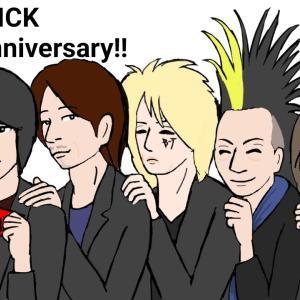 BUCK-TICKさん、32周年おめでとうございます✨