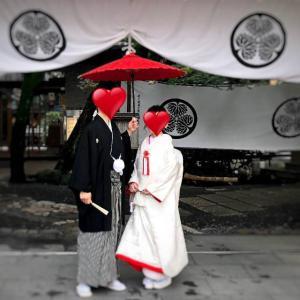 幸せいっぱいの結婚式