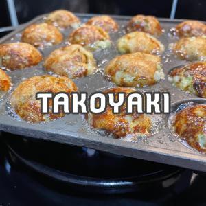 【キャンプでたこ焼き】適当でもちゃんと美味しく作れる簡単たこ焼きレシピをご紹介!
