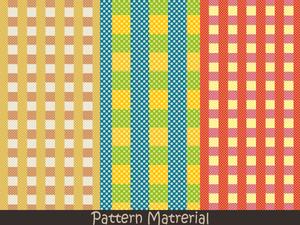チェックパターン(パターン素材)