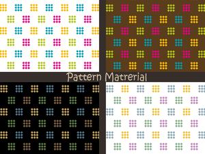小さい菱形パターン(パターン素材)