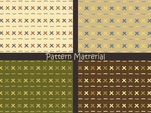 縫い目模様(パターン素材)