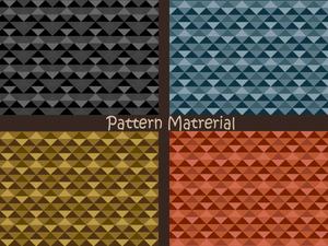 三角パターン(パターン素材)