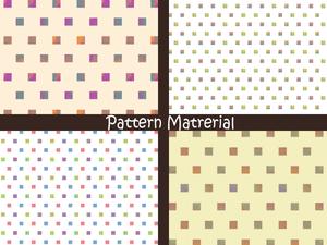 四角いドット(パターン素材)