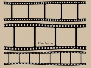 カメラフィルム(フレーム素材)