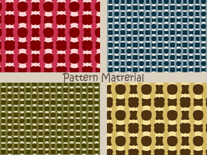 クロスパターン(パターン素材)