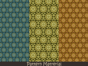 幾何学模様(パターン素材)