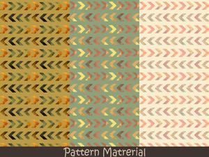 矢印みたいな模様(パターン素材)