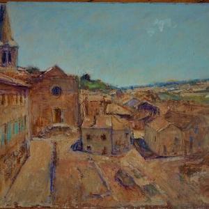 フランス風景画の旅 中世の町並みが残る村 Loire perreux
