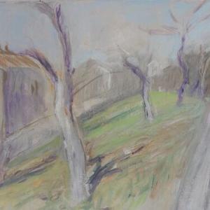 フランス風景画の旅 ボージョレの春 art peinture Thizy