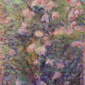 フランス絵画 ノルマンディーの薔薇Ⅱ L Atelier Thizy Art Peinture