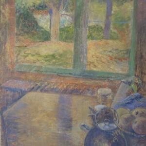 フランス風景画 ノルマンディーの庭 ジャルダン