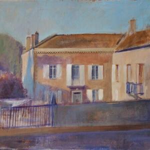 フランス絵画 ルミエール デュ ボヌール アトリエ制作記録