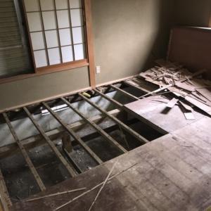 大網戸建の修繕 第10回 和室の床下って・・・