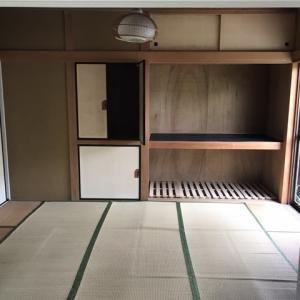 大網戸建 和室の洋室化 完成までの変化