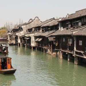 古鎮はどこがおすすめ?中国上海近郊の水郷|運河沿いの古い町観光|江南