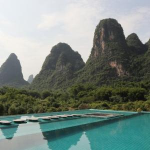 陽朔のおすすめホテル!景色が素晴らしいプール付きホテル|中国桂林