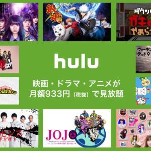 Huluが大好き過ぎるのでご紹介します。