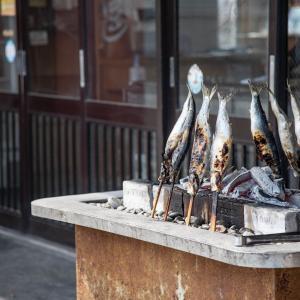 民宿・青塚食堂の焼きニシンが最高に美味くて店員さんも素敵だった話