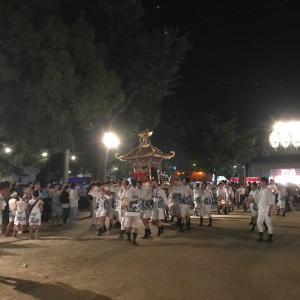 【恩智神社 夏祭り】令和元年8月1日  Onji Shrine Summer Festival (August 1st, 2019) in Yao city of Osaka, Japan