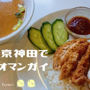 神田の東京カオマンガイでランチをしてきました。リーズナブルに絶品カオマンガイ!