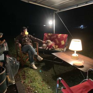 キャンプの夜はホットワインでぽかぽか