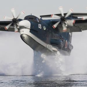 日本が世界に誇る国産飛行艇の展示と講演会