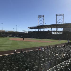 【プロ野球】アリゾナで日ハムの試合に行ってきた!?