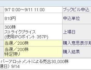 まぐまぐ(4059) IPOポイント当選 ~ 今月の優待 ~