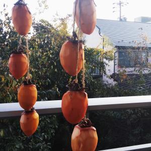 干し柿~道草を思い出す(^^)